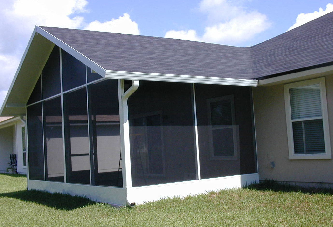 Screen Florida Room Roof Options Martin Home Exteriors