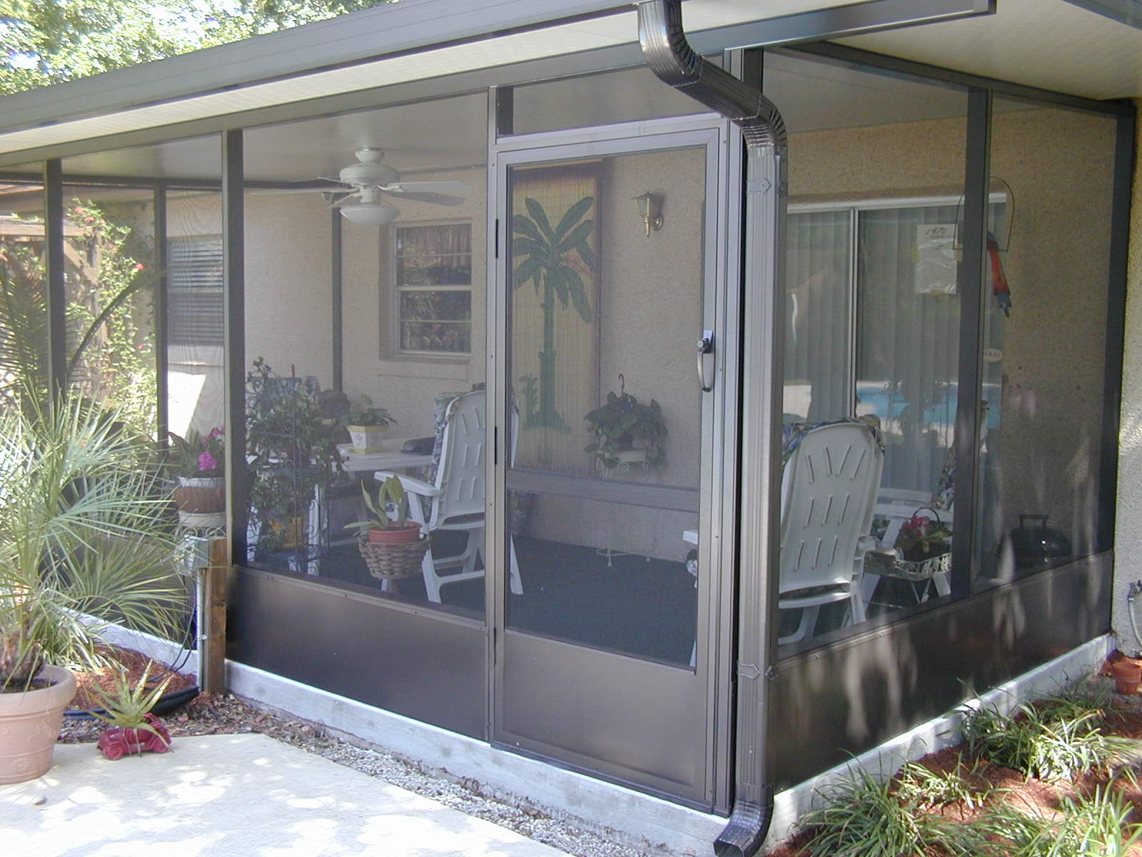 Screen Amp Glass Room Kick Plate Options Martin Home Exteriors