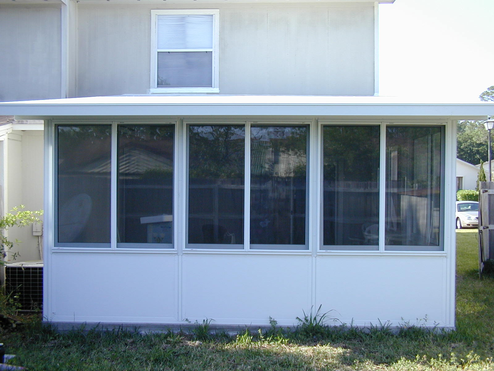 screen glass room kick plate options martin home exteriors