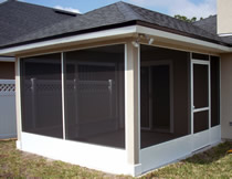 Jacksonville Screen Wall Design Sunroom Contractor In Fl Martin Home Exteriors